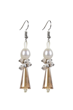New Fashion Simple Design Crystal Earrings E2076