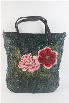 Crystal Flower Handbag HB0552