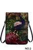 Peacock Print Crossbody HB0580 - NO.2