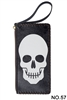 Skull Head Printed Makeup Clutch Handbags HB0581 - NO.57