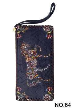 Horse Vintage Wallet Handbags HB0581 - NO.64