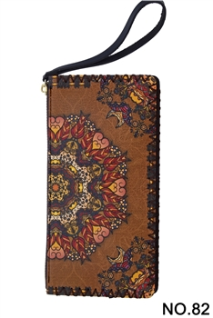 Ethnic Printed Wristlet HB0581 - NO.82BR