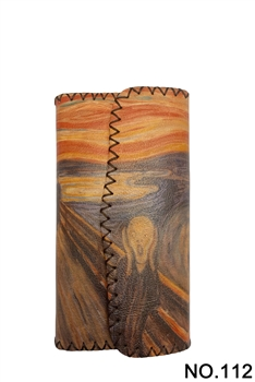 The Scream Printed Wallet HB0582 - NO.112