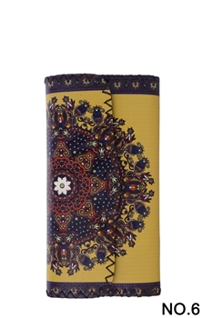 Ethnic Printed Wallet HB0582 - NO.6YW