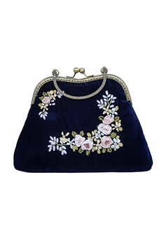 Flower Evening Bag Party Portable Purse HB0583