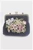 Clutch Purse Lady Evening Bag With Flower HB0584