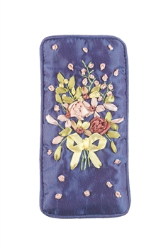 Cotton Flower Glasses Cellphone Pouch HB0588