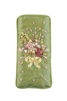 Cotton Flower Glasses Cellphone Pouch HB0588 - Green