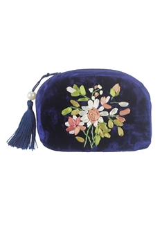 Hot Sale embroidery Velvet Small Bags HB0589