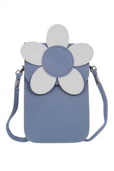 Big Flower Leatherette Handbags HB0608