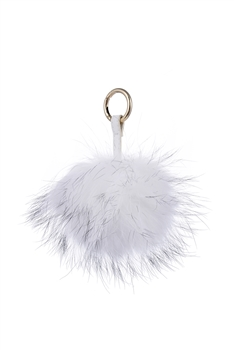 Fuffy Keying Fur Pompon Ball Accessories Key Chains K1096