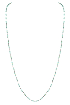 Tiny Beads Necklaces N3065 - Blue