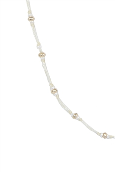 Tiny Beads Necklaces for Pendant N3065 - Beige
