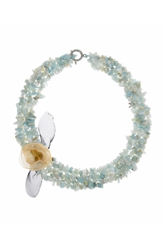 Natural Semi-precious Stones Choker Necklaces N3081