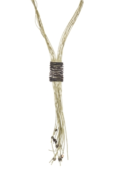 Charming Leather Tassel Necklaces N3097