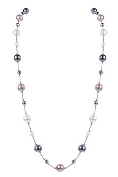 Fashion Women Fresh Pearls Long Necklaces N3123