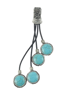 Turquoise Statement Necklace Pendants P0102