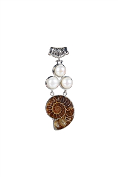 Pearl Shell Beauty Necklace Pendants P0125
