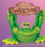 TL 1159 Frog Greeter