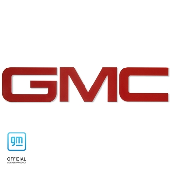 GMC Sierra Billet Bed Rail Letters (*Choose color)