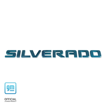 07-up Silverado Exterior Badge