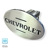 Hitch Cover 100 Year Chevrolet Font (Blue Steel Metallic)
