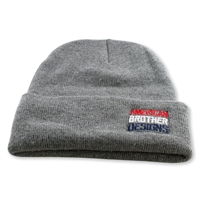 Slant Beanie (Athletic Gray/RWB)