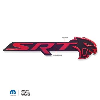 Charger SRT Hellcat Front Grill Badge