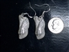 Fine Silver Angel Wing Shell  Earrings