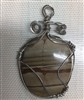 Sterling Silver Wire wrapped Picture Jasper