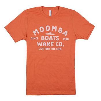 Moomba Life Tee - Heather Orange
