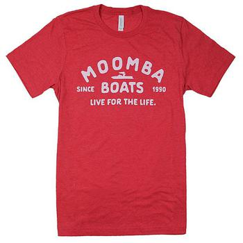 Moomba Life Tee - Heather Red