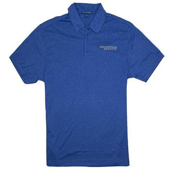 Moomba Trace Heather Polo - True Royal
