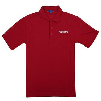Moomba Vertical Performance Polo - Red