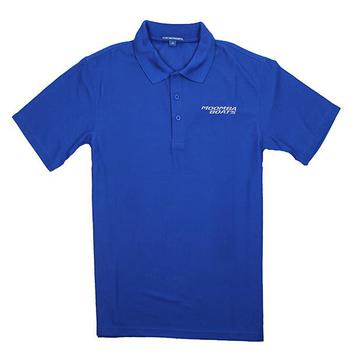 Moomba Vertical Performance Polo - Blue Jewel