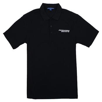 Moomba Vertical Performance Polo - Black
