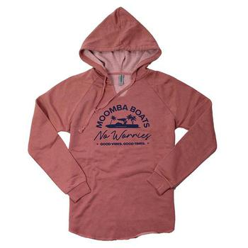 Moomba Ladies California Hoodie - Dusty Rose