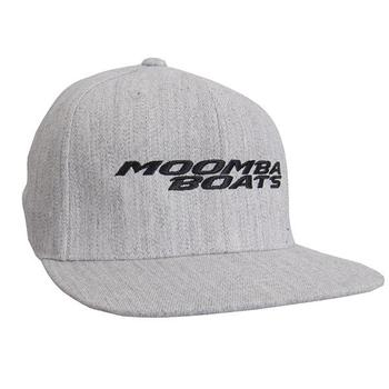 Moomba Wool Snap Cap - Heather Grey