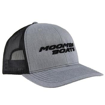Moomba Trucker Cap - Heather Grey / Black