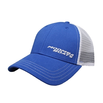 Moomba Life Cap - Royal / White