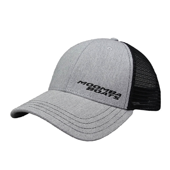 Moomba Life Cap - Grey Heather / Black