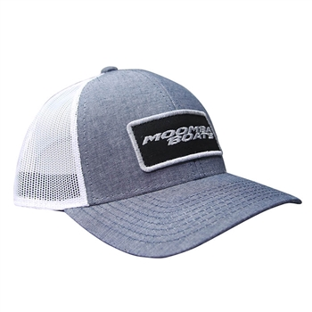 Moomba Apex Cap - Heathered Navy / White