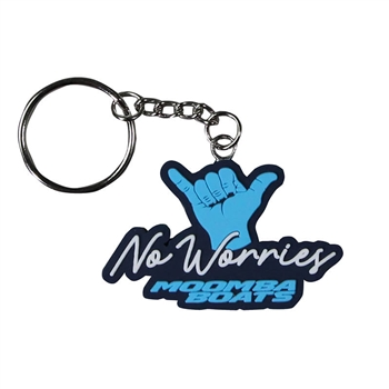Moomba PVC Key Chain