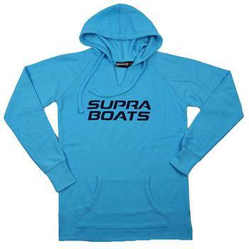 5bcac46da67c Supra Ladies Volley Hoodie - Aqua ...