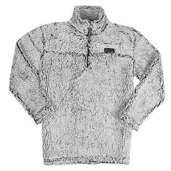 Supra Ladies Sherpa Pullover - Frosty Grey