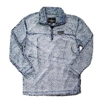 Supra Ladies Sherpa Pullover - Frosty Navy