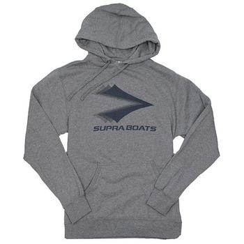 Supra Iconic Hoodie - Gunmetal Heather