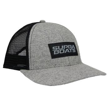 Supra Passion Cap - Grey Herringbone