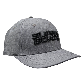 Supra Lucas Cap - Black Oxford