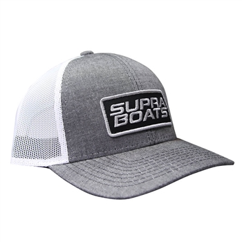Supra Ascent Cap - Heathered Black / White